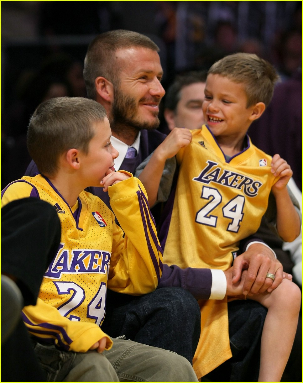 david beckham lakers 04
