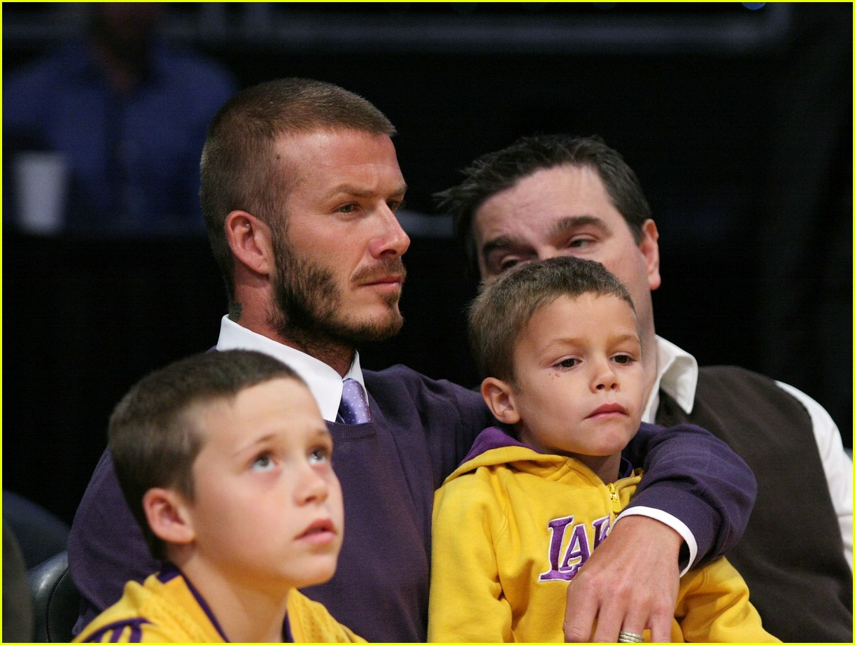 david beckham lakers 09