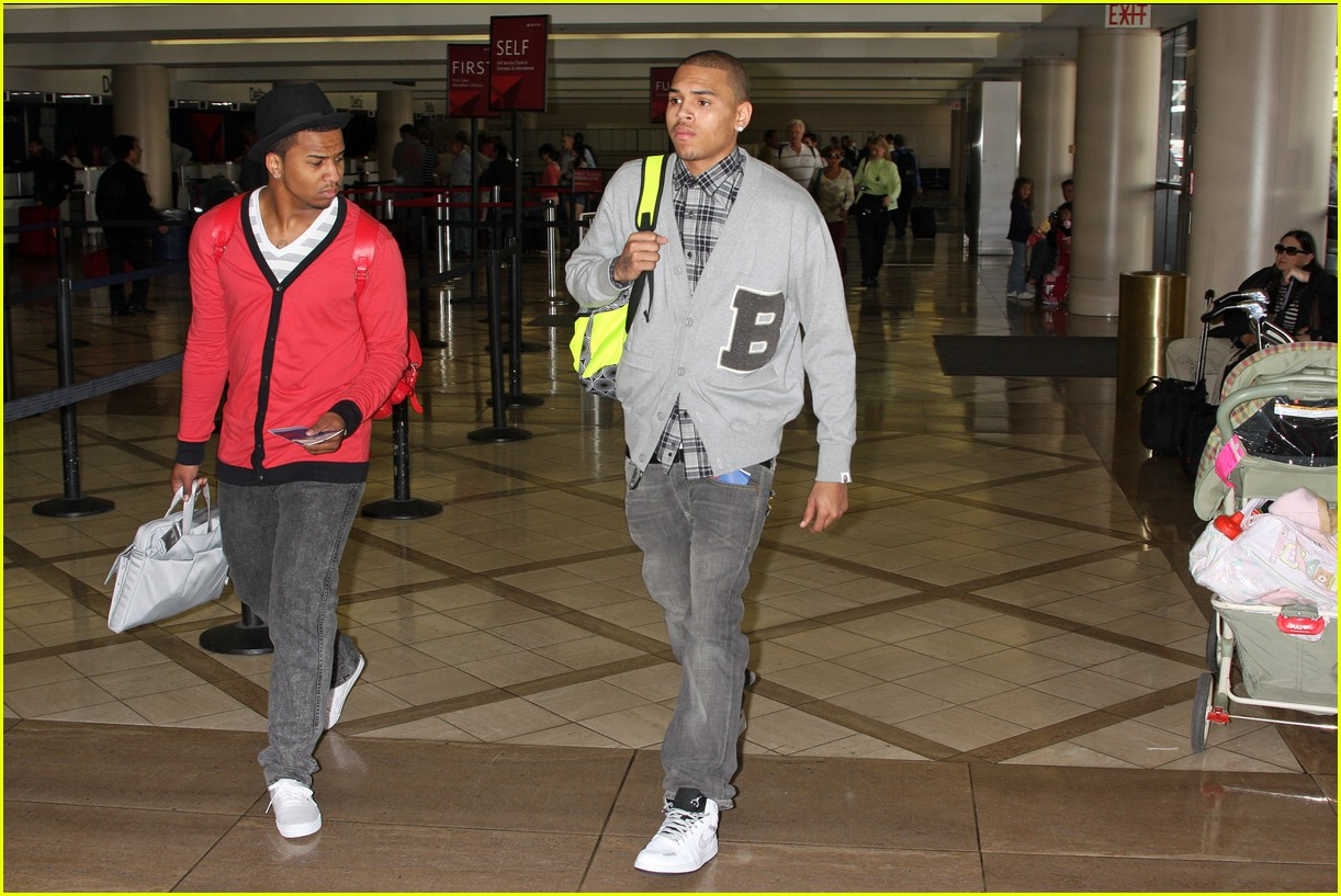chris brown lax 08