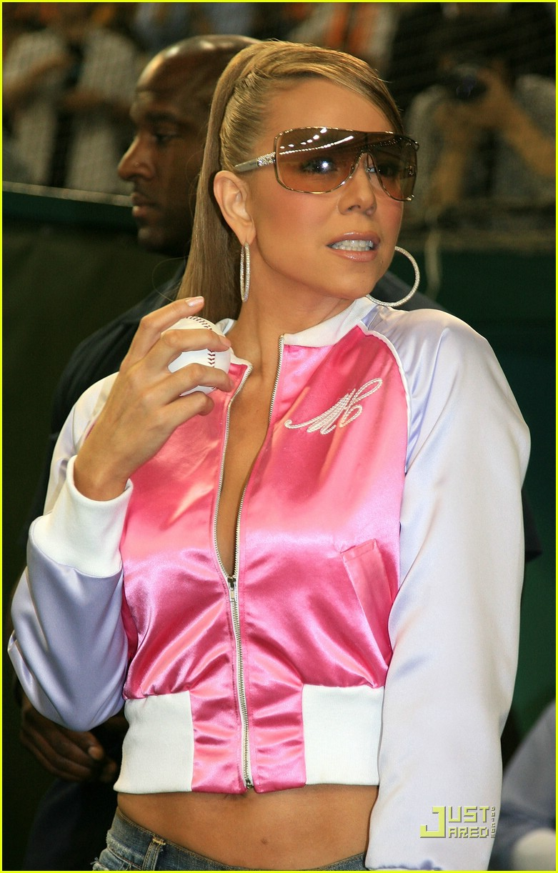 mariah carey baseball 341162671