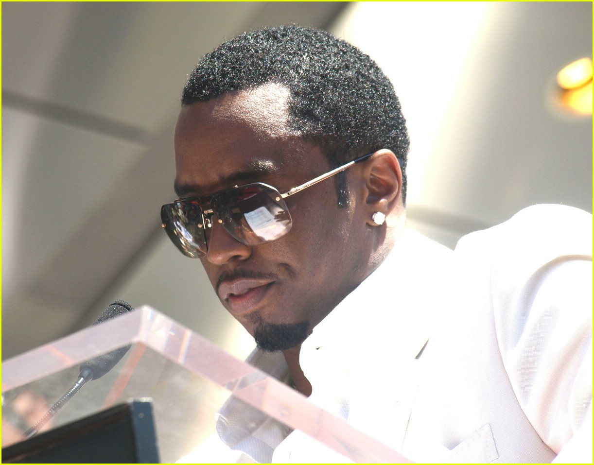 diddy hollywood walk of fame star 18