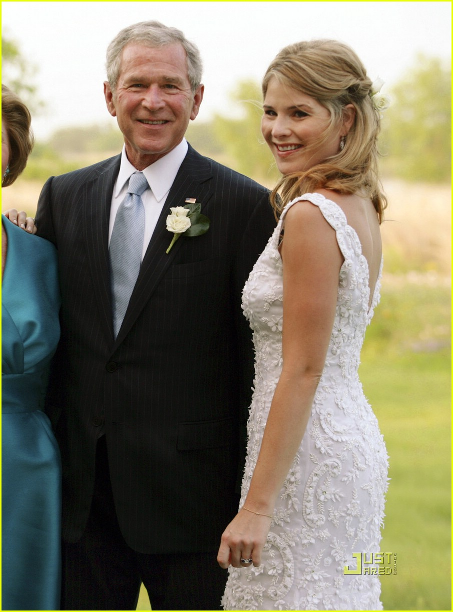 jenna bush wedding pictures 071123081