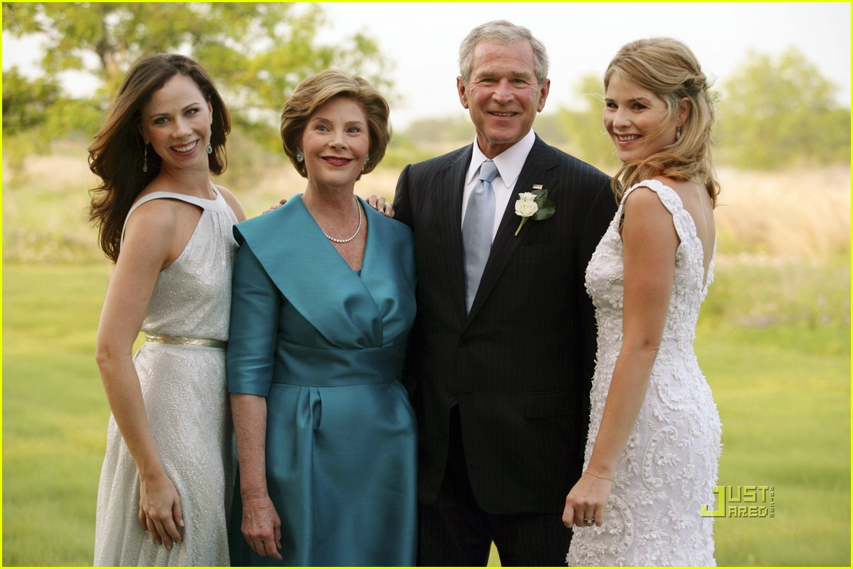 jenna bush wedding pictures 081123091