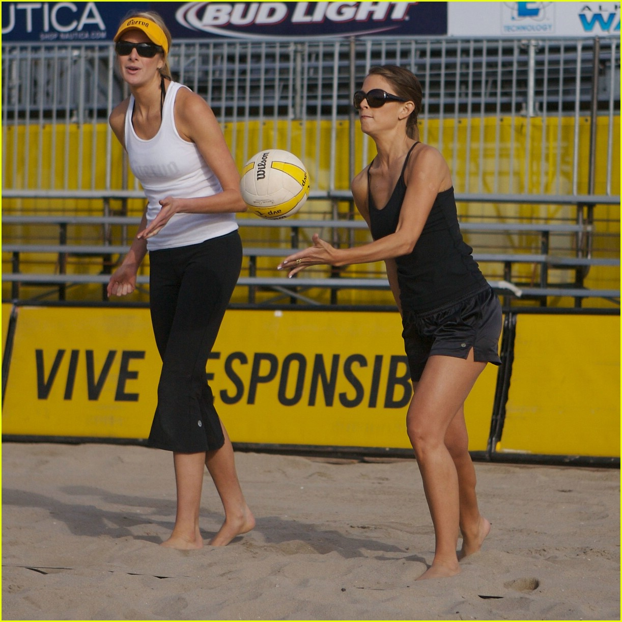 maria menounos avp volleyball 27
