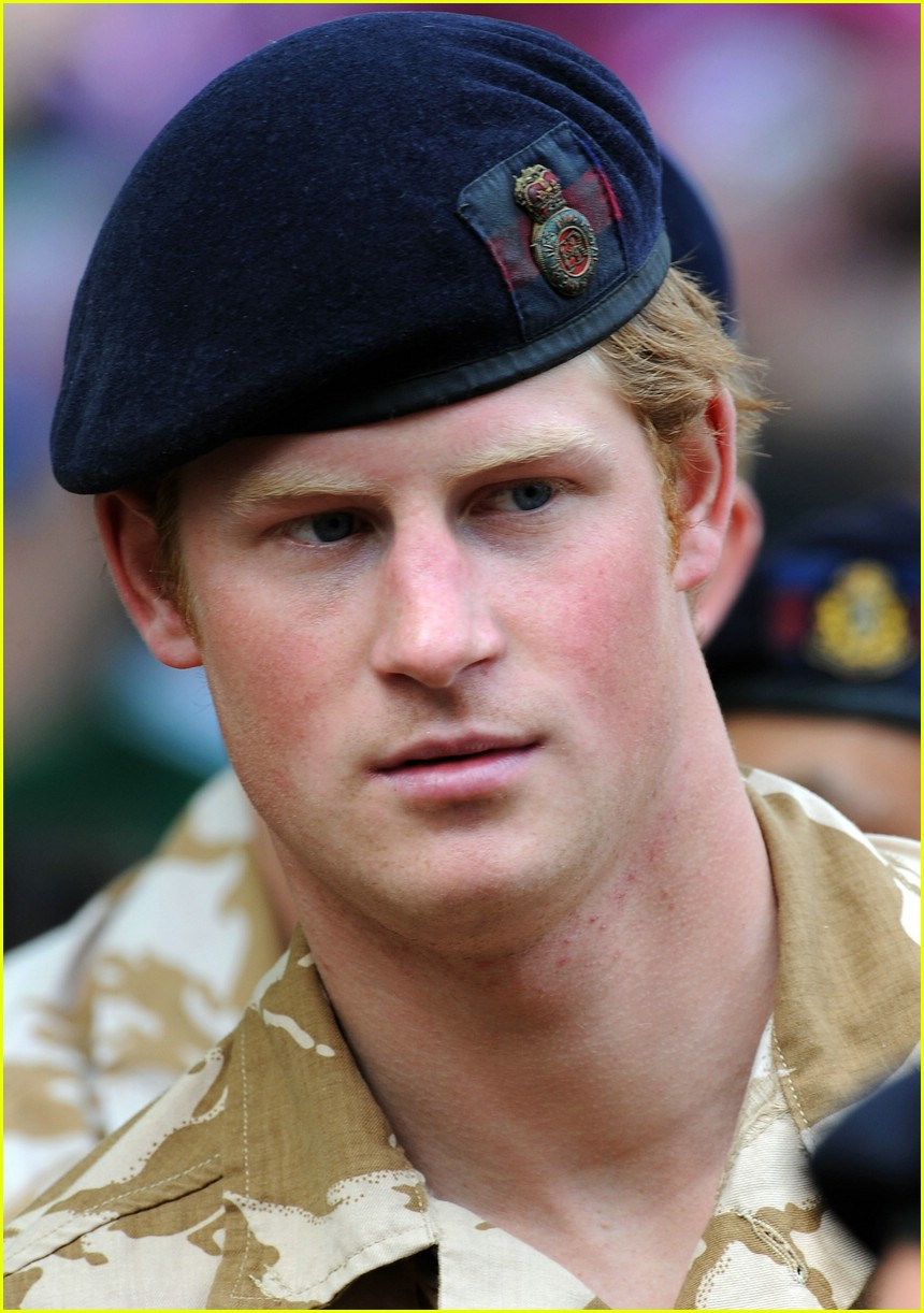 prince harry william medal 18