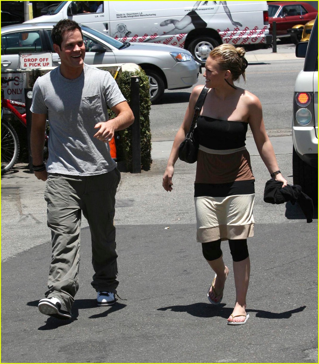 hilary duff bands brown 10