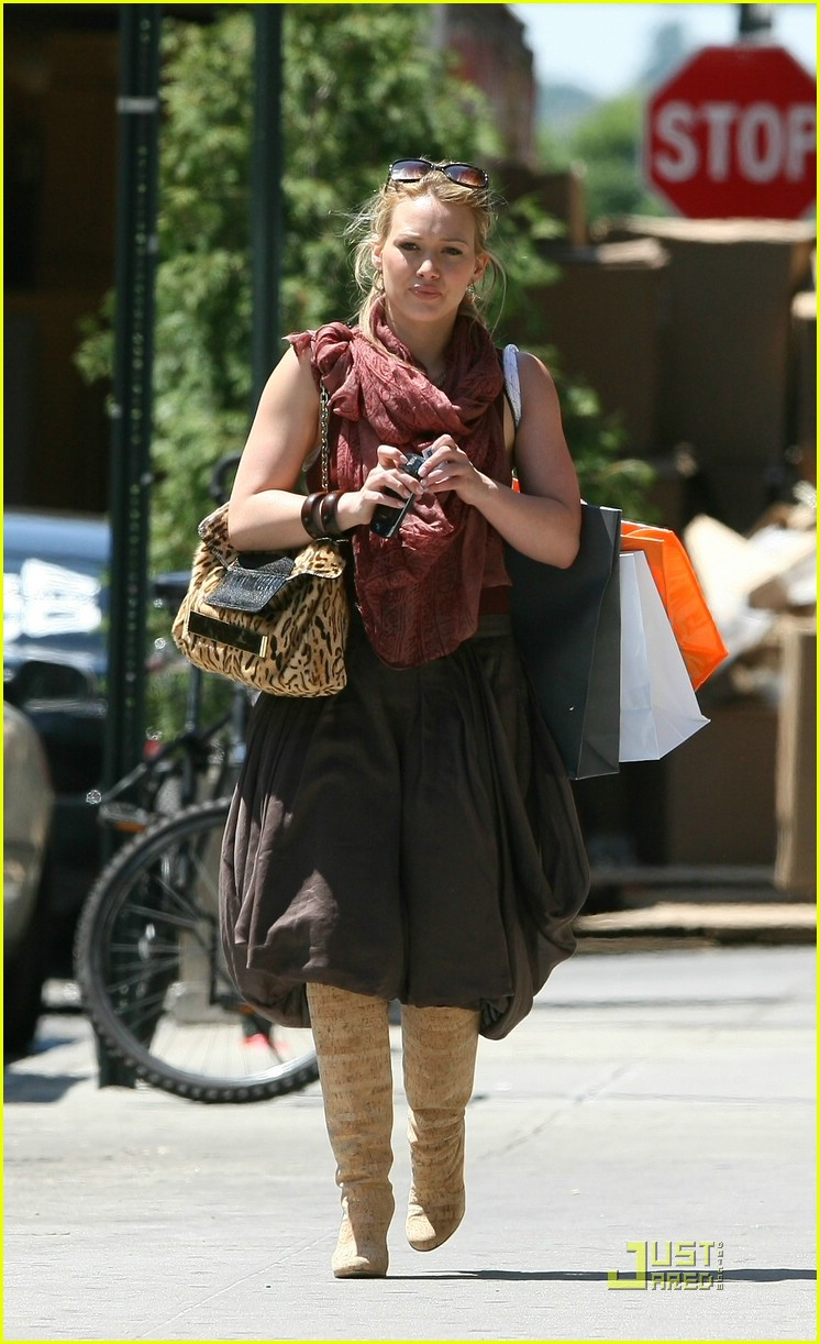 Hilary Duff just jared