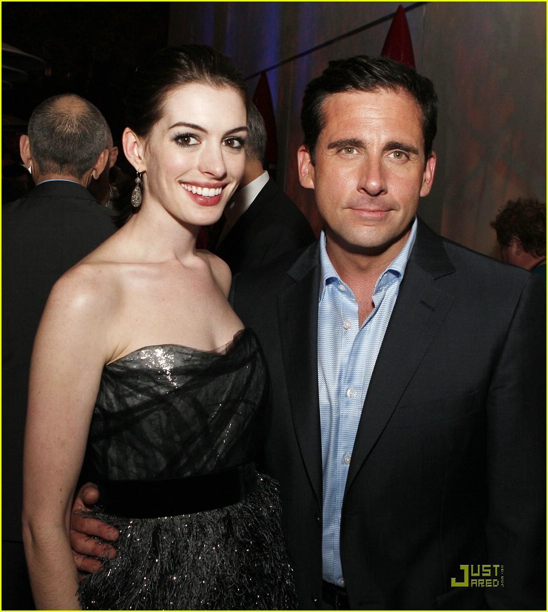 Anne Hathaway Get Smart: Whose Anne Hathaway Dating