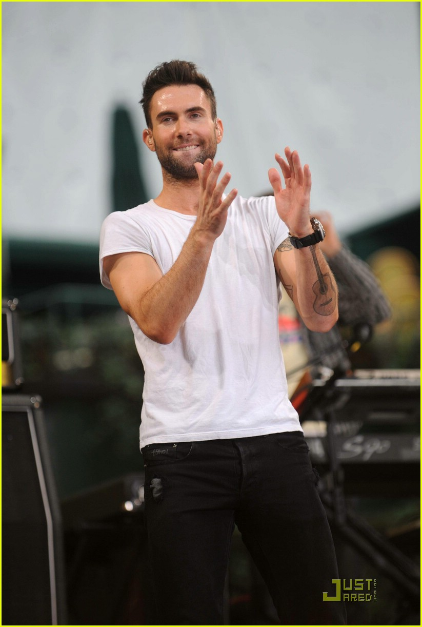adam levine good morning america 221233811