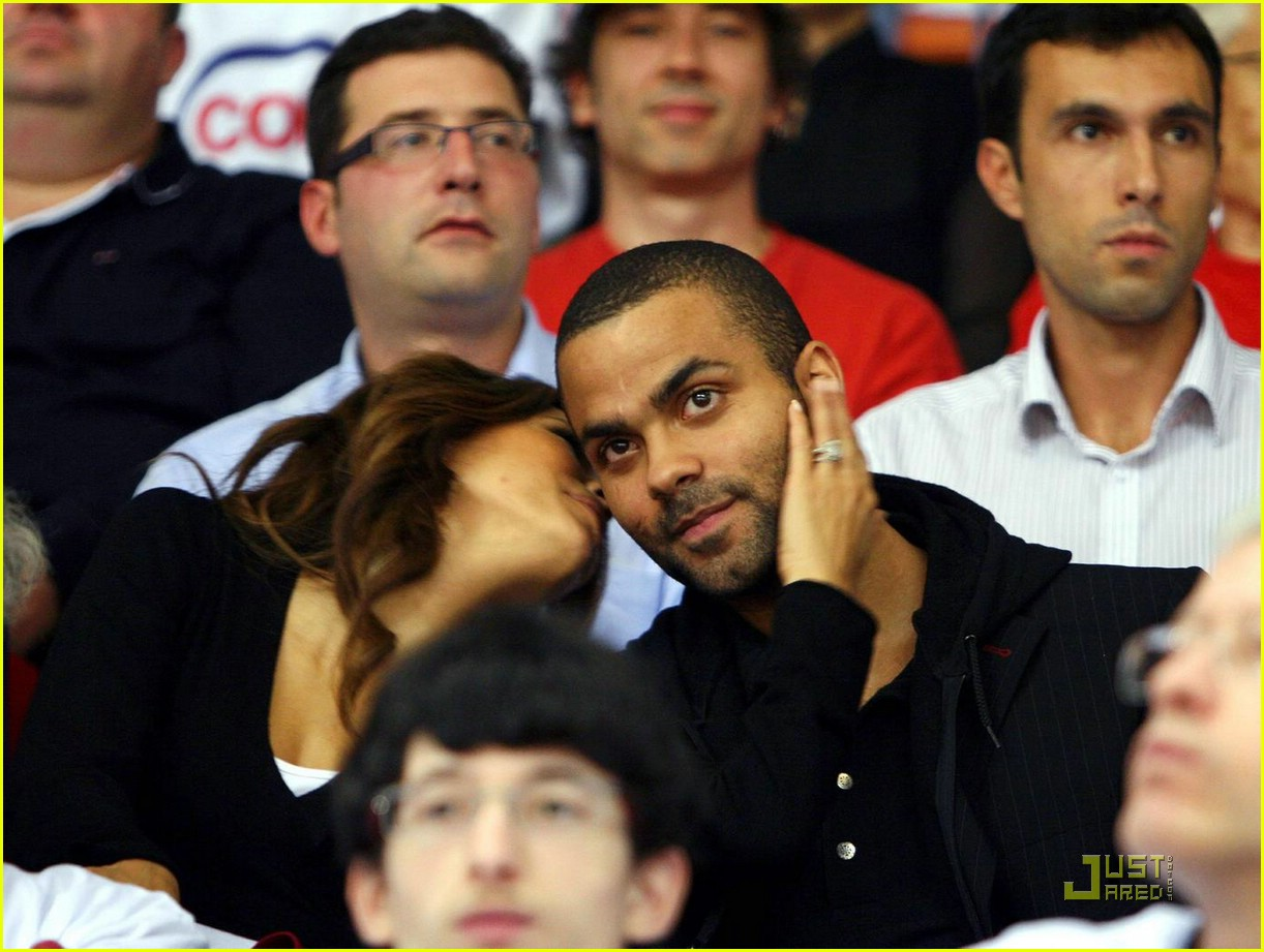 Full Sized Photo of eva longoria tony parker smell 03 ... Eva Longoria