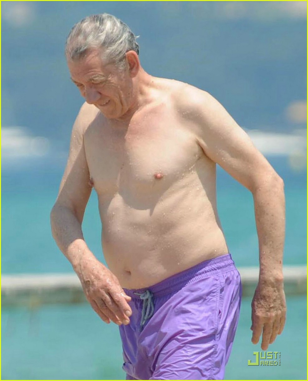 ian mckellen shirtless 10