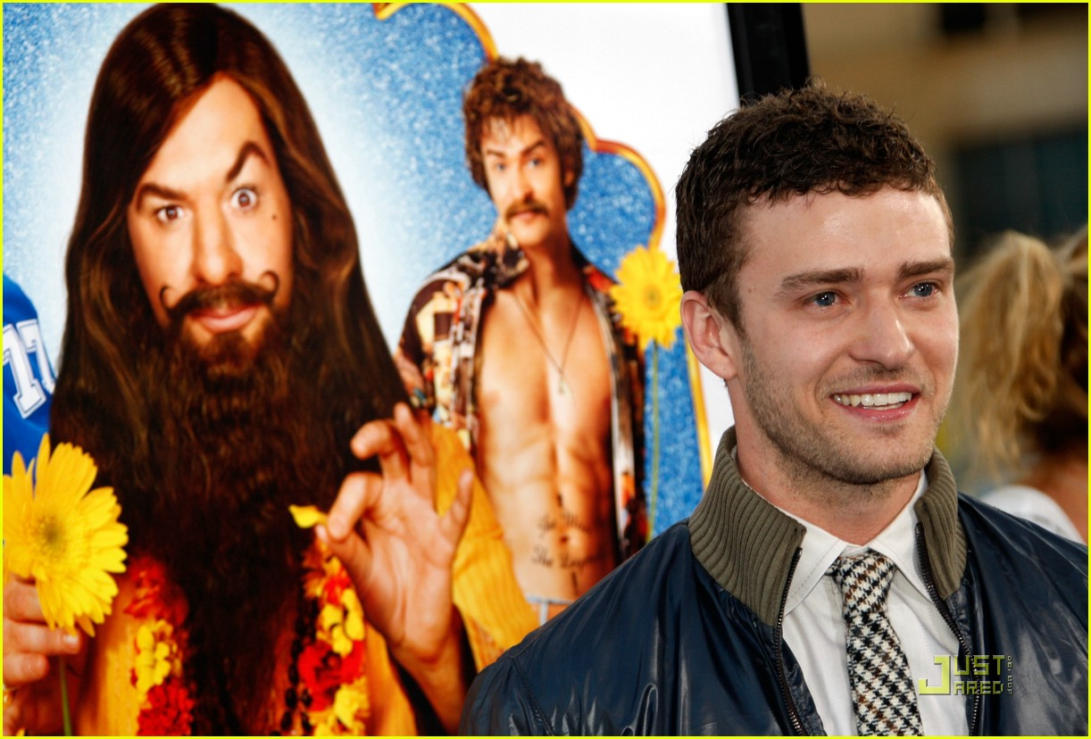 justin timberlake love guru premiere 08