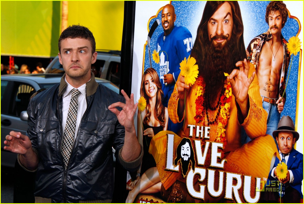 justin timberlake love guru premiere 11