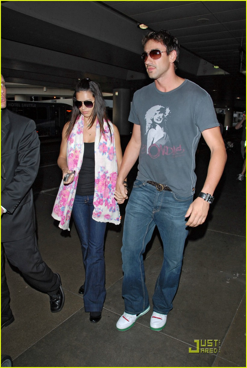 Adriana Lima with Husband Marko Jaric