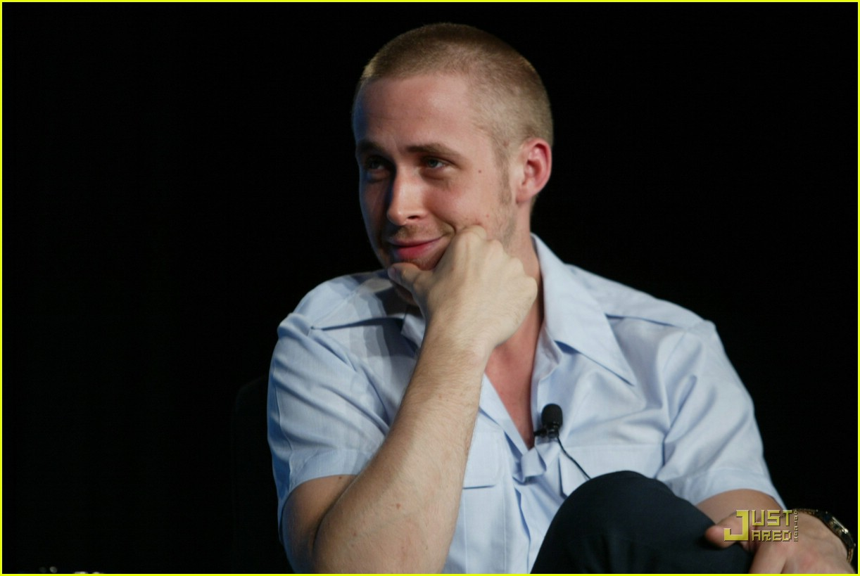 Ryan Gosling Short Buzz Cut Haircut Pictures Famous Mens