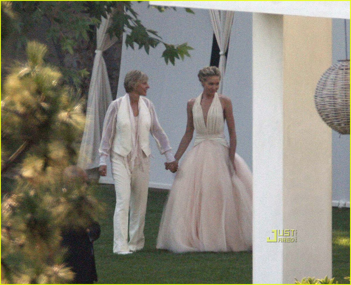 ellen degeneres wedding pictures 01