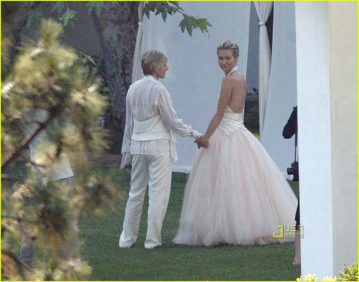 ellen degeneres wedding pictures 03