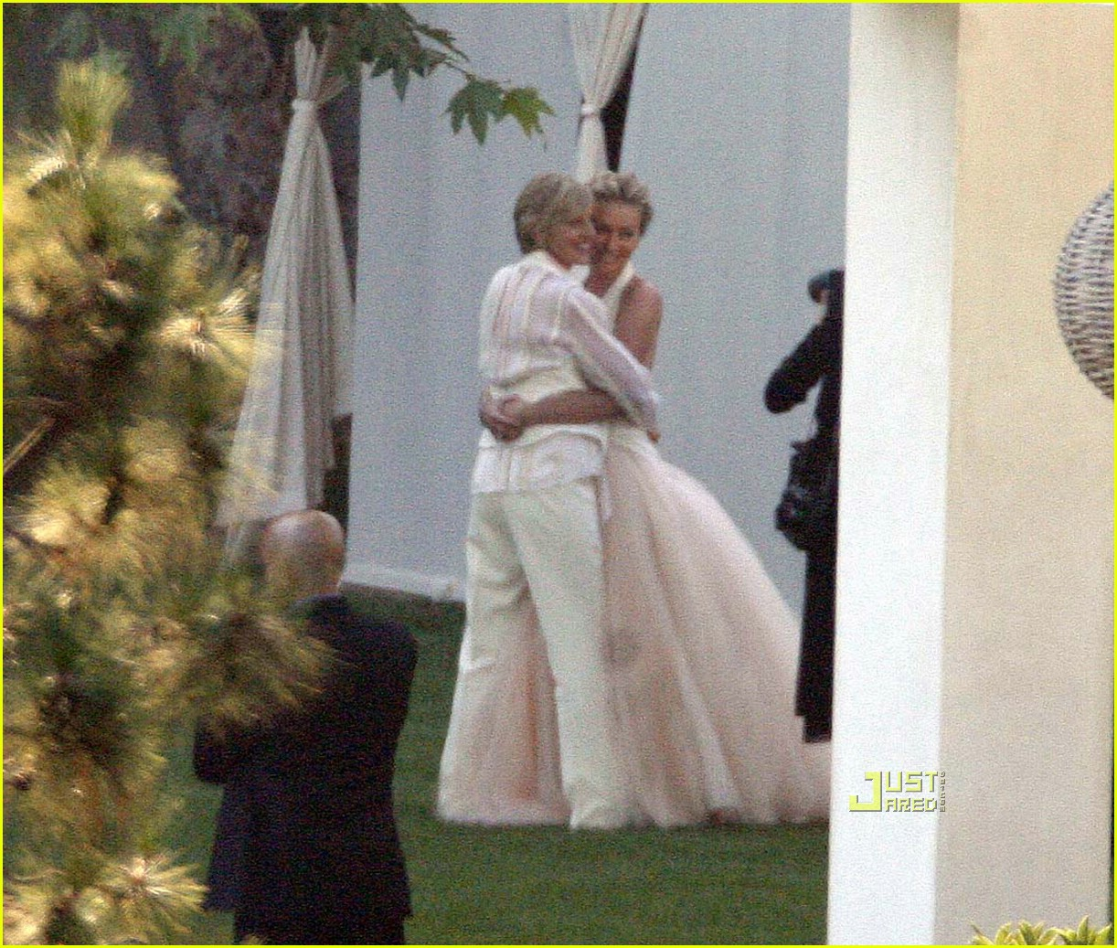 ellen degeneres wedding pictures 04