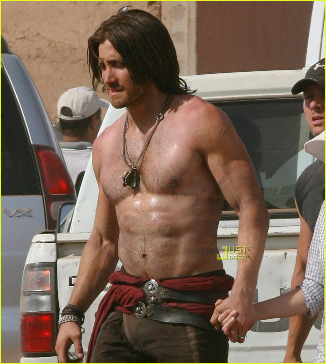 jake gyllenhaal shirtless prince of persia 04