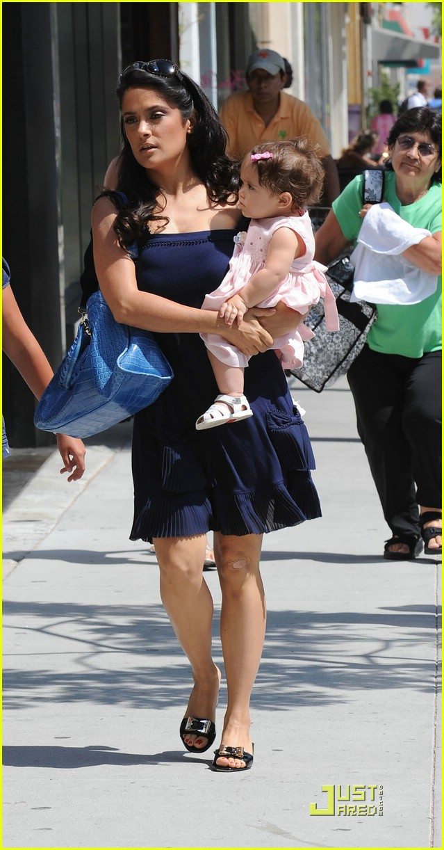 Salma Hayek's Baby Valentina: Photo 1310081 | Celebrity Babies ...