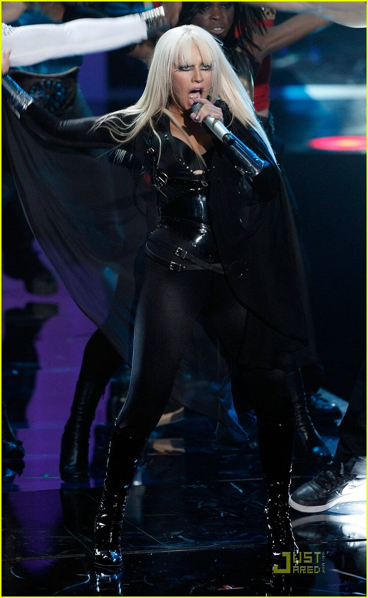 christina aguilera performance 2008 vmas 141405051