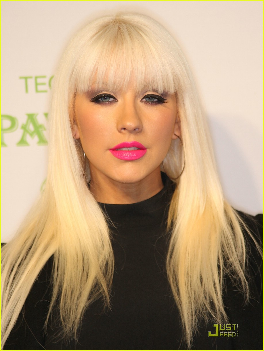christina aguilera rock the vote 02