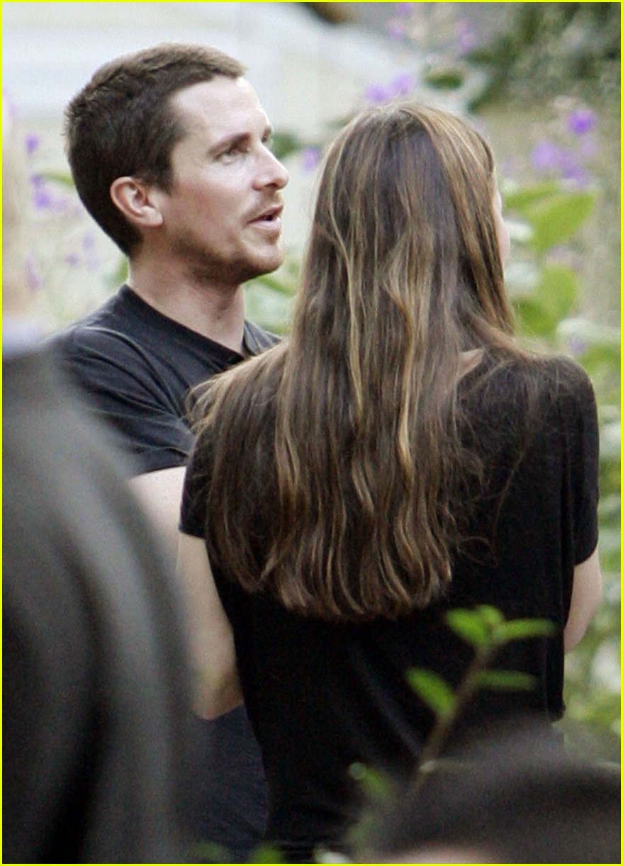 christian bale sibi blazic garden party 01