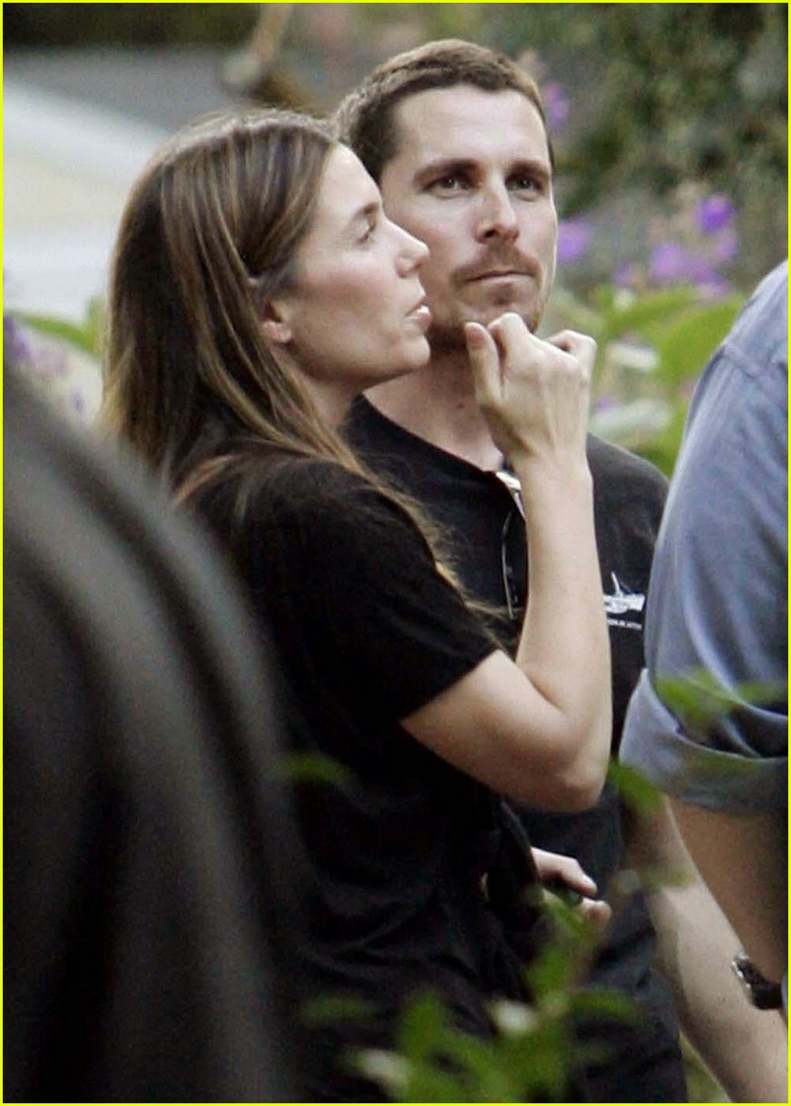 christian bale sibi blazic garden party 09