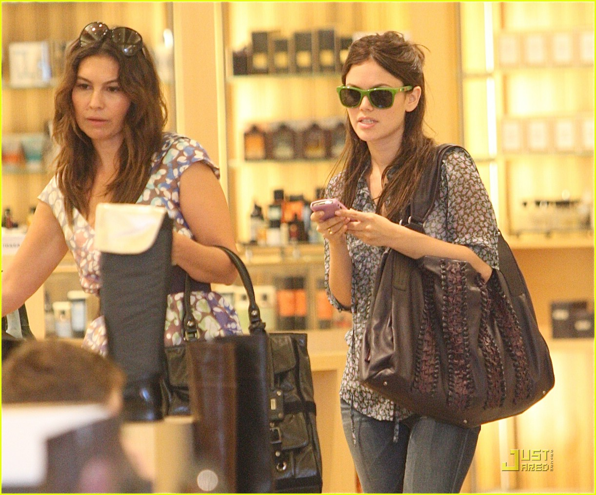 rachel bilson barrels into barneys 01