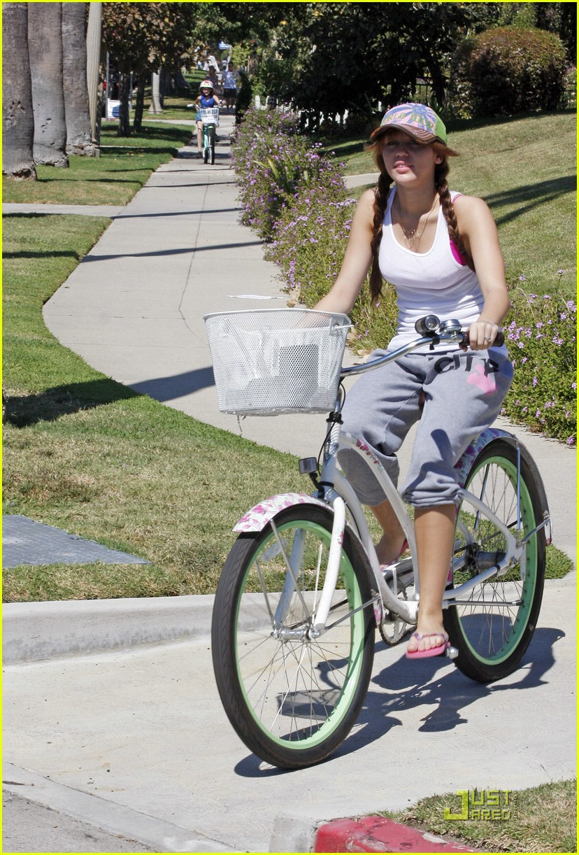 miley cyrus biker babe 021448061