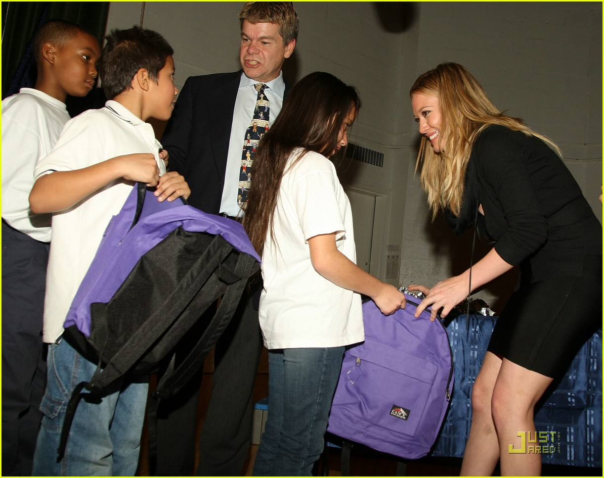 hilary duff blessings in a backpack 13