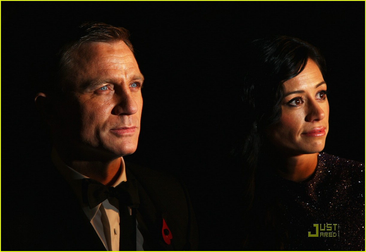 daniel craig quantum of solace world premiere 151515121