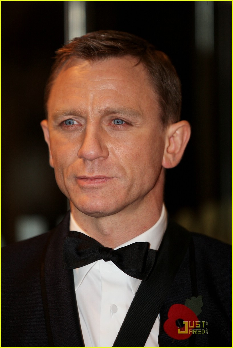 daniel craig quantum of solace world premiere 23