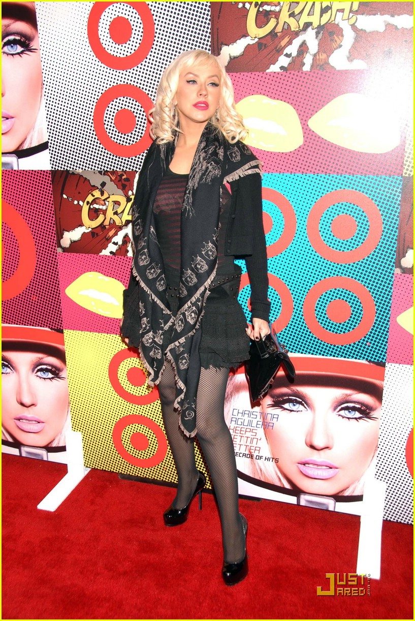 christina aguilera target a night of music 09