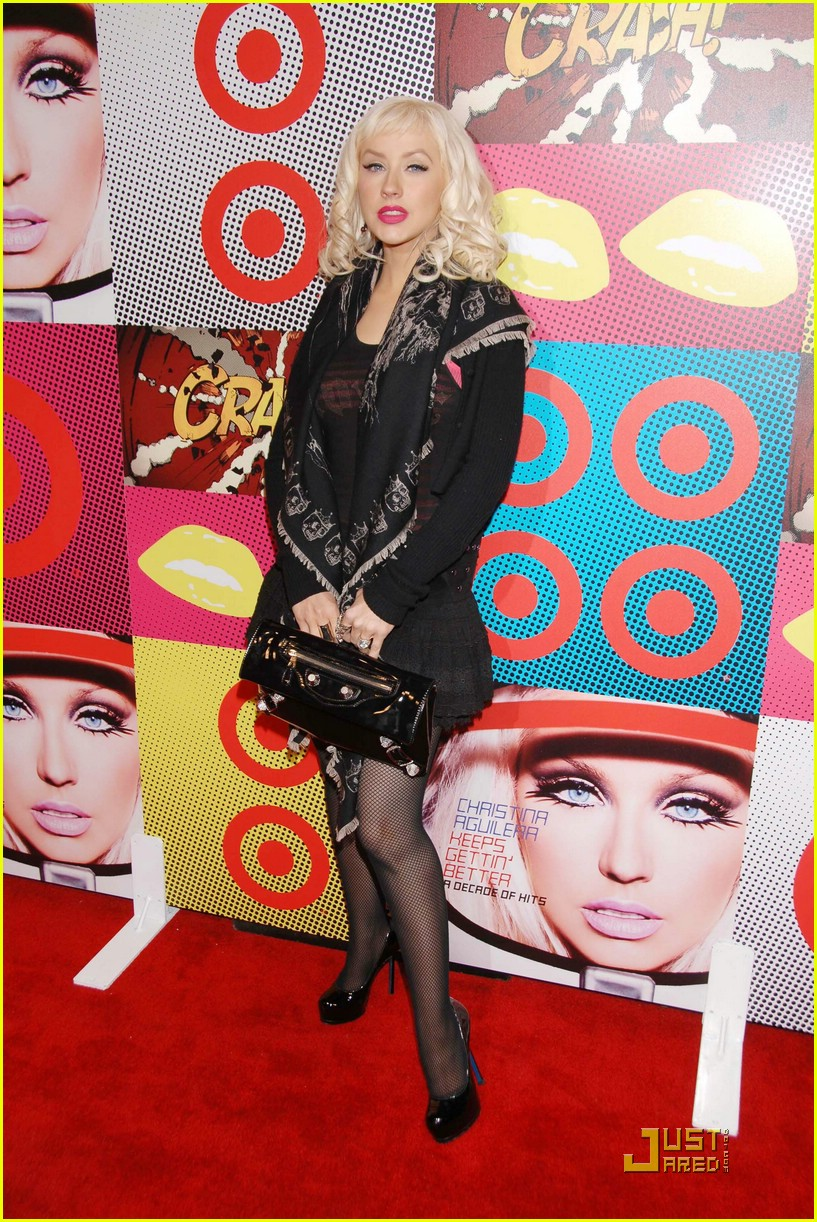 christina aguilera target a night of music 101562031