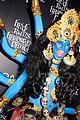 heidi klum blue indian goddess halloween 09