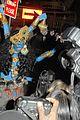 heidi klum blue indian goddess halloween 13
