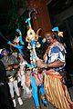 heidi klum blue indian goddess halloween 33