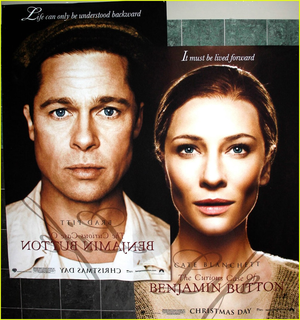 full sized photo of new benjamin button poster 03 photo