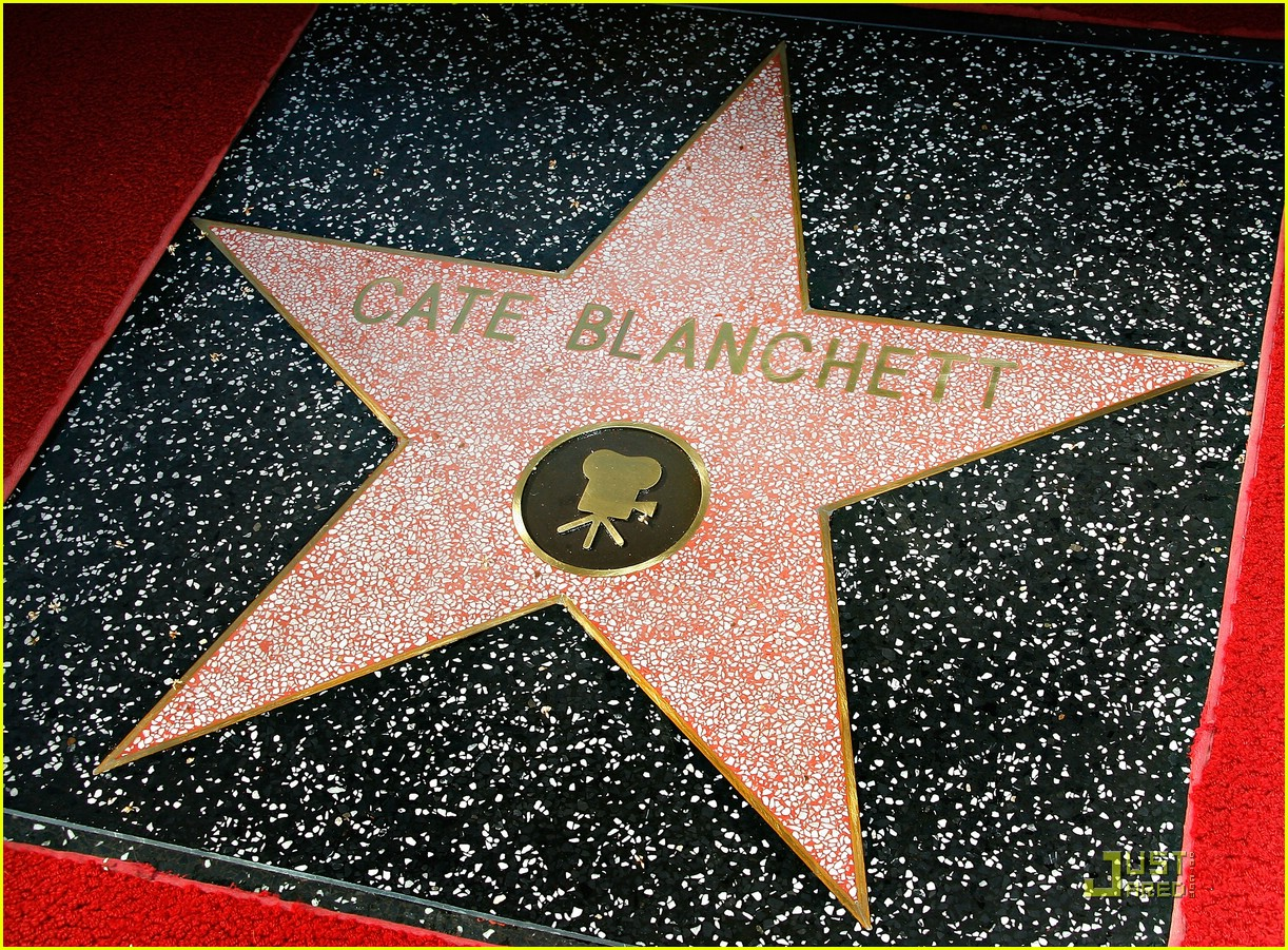 full sized photo of cate blanchett star hollywood walk of