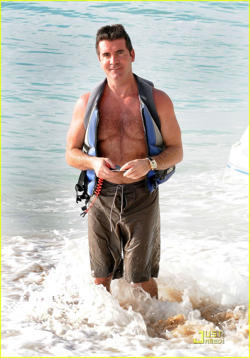 simon cowell barbados christmas 02