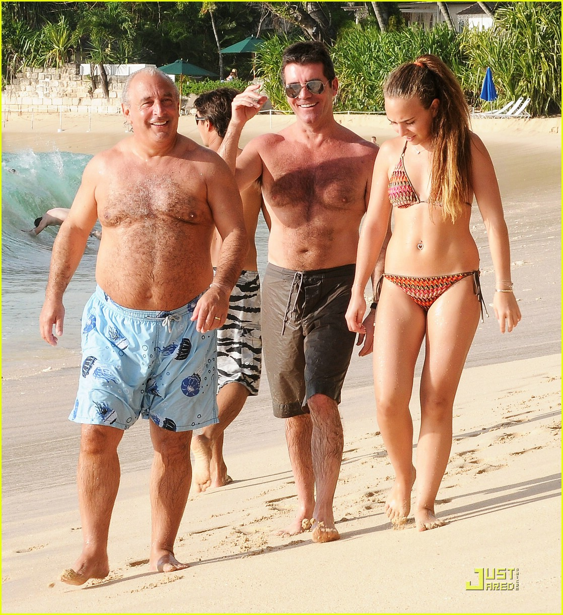 simon cowell barbados christmas 04