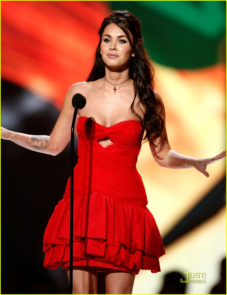 megan fox spike tv video game awards 041598001