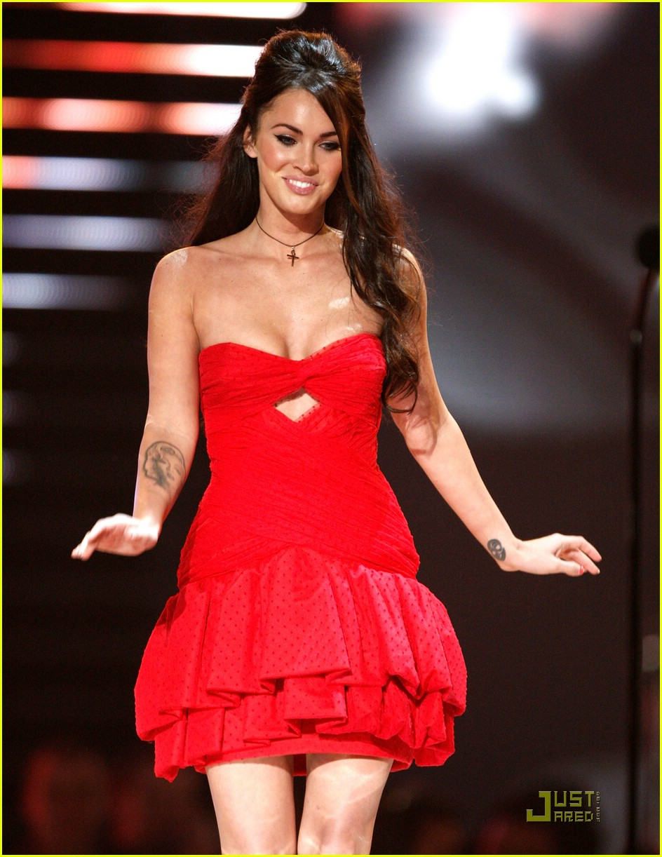 megan fox spike tv video game awards 101598061