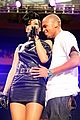 rihanna chris brown 2008 jingle ball 10