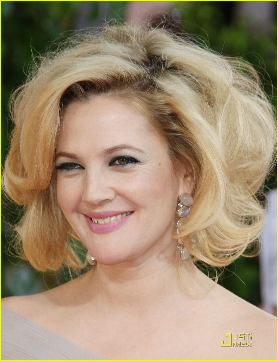 drew barrymore golden globes 2009 081645461