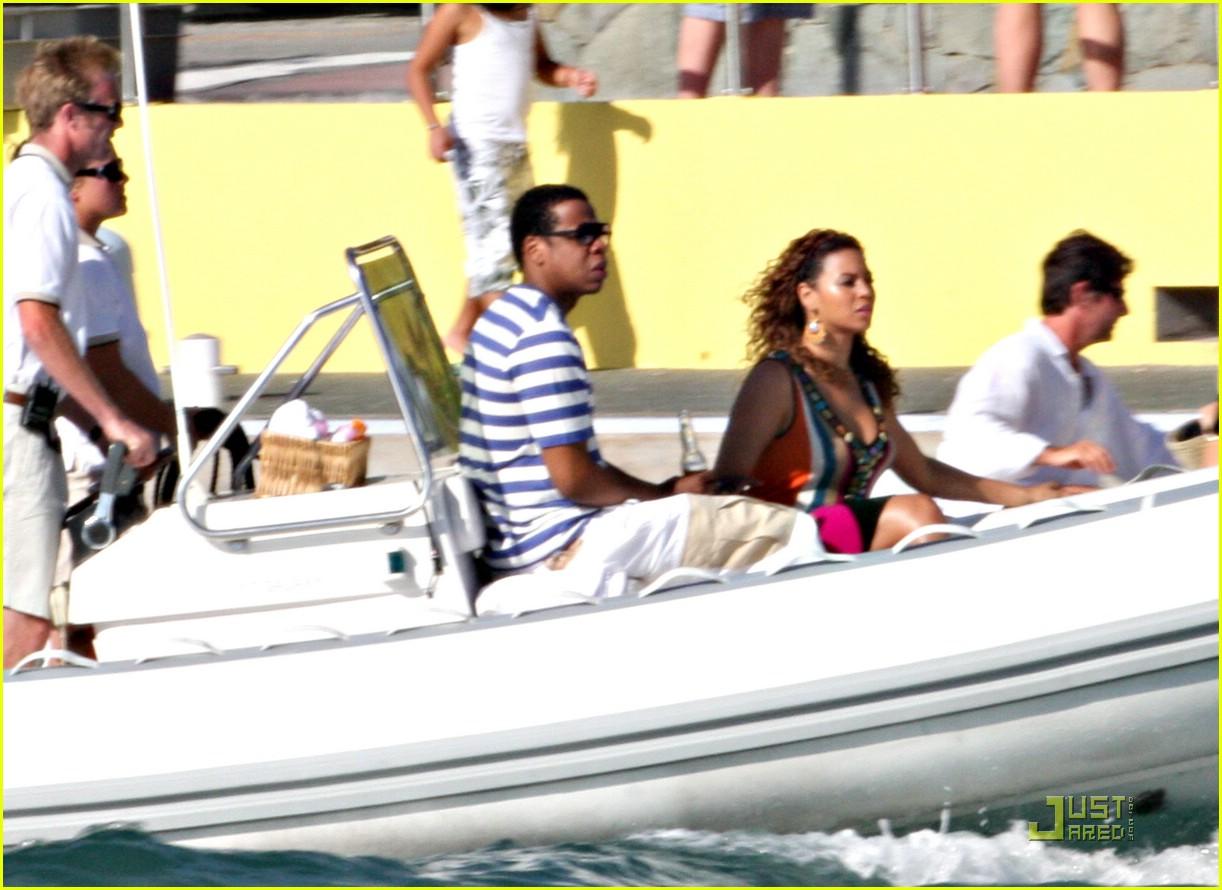 beyonce jay z st barts boating 111625231