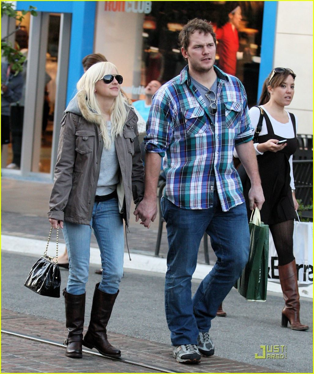 anna faris chris pratt couple 02