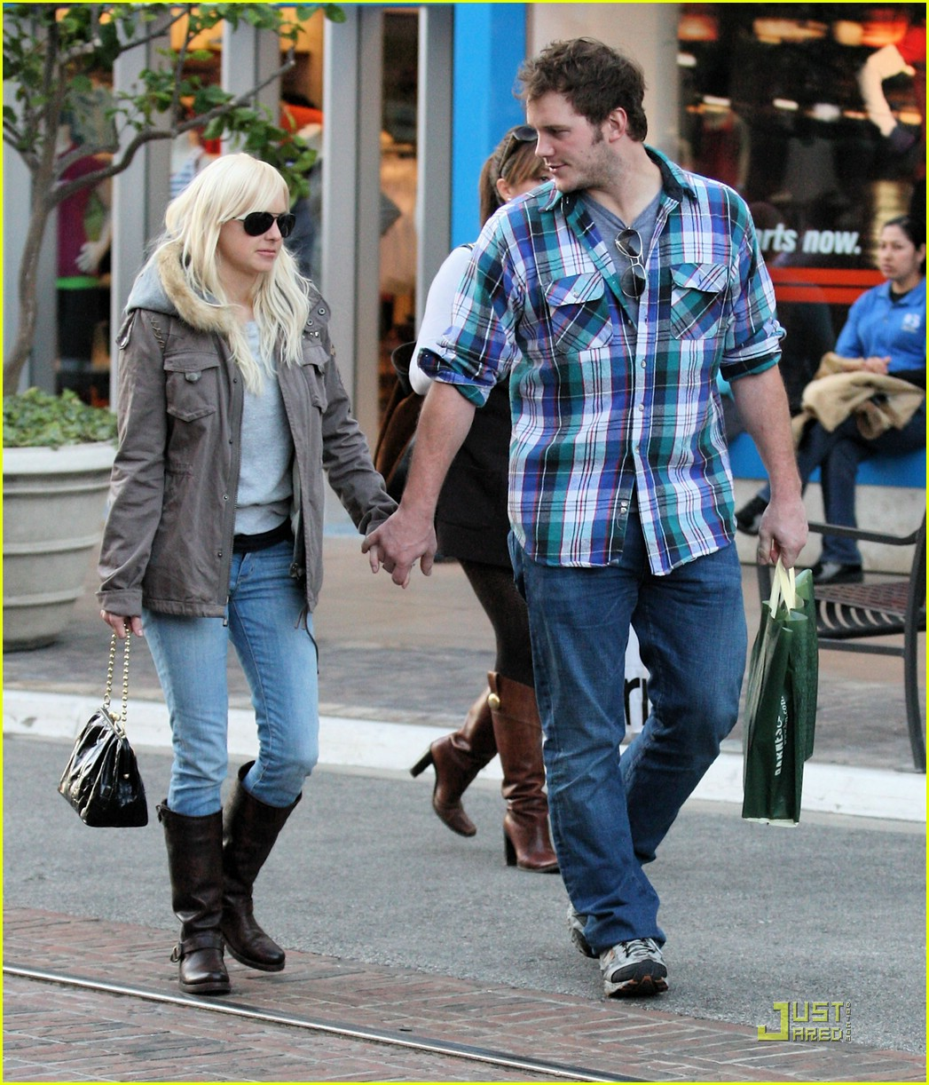 anna faris chris pratt couple 06