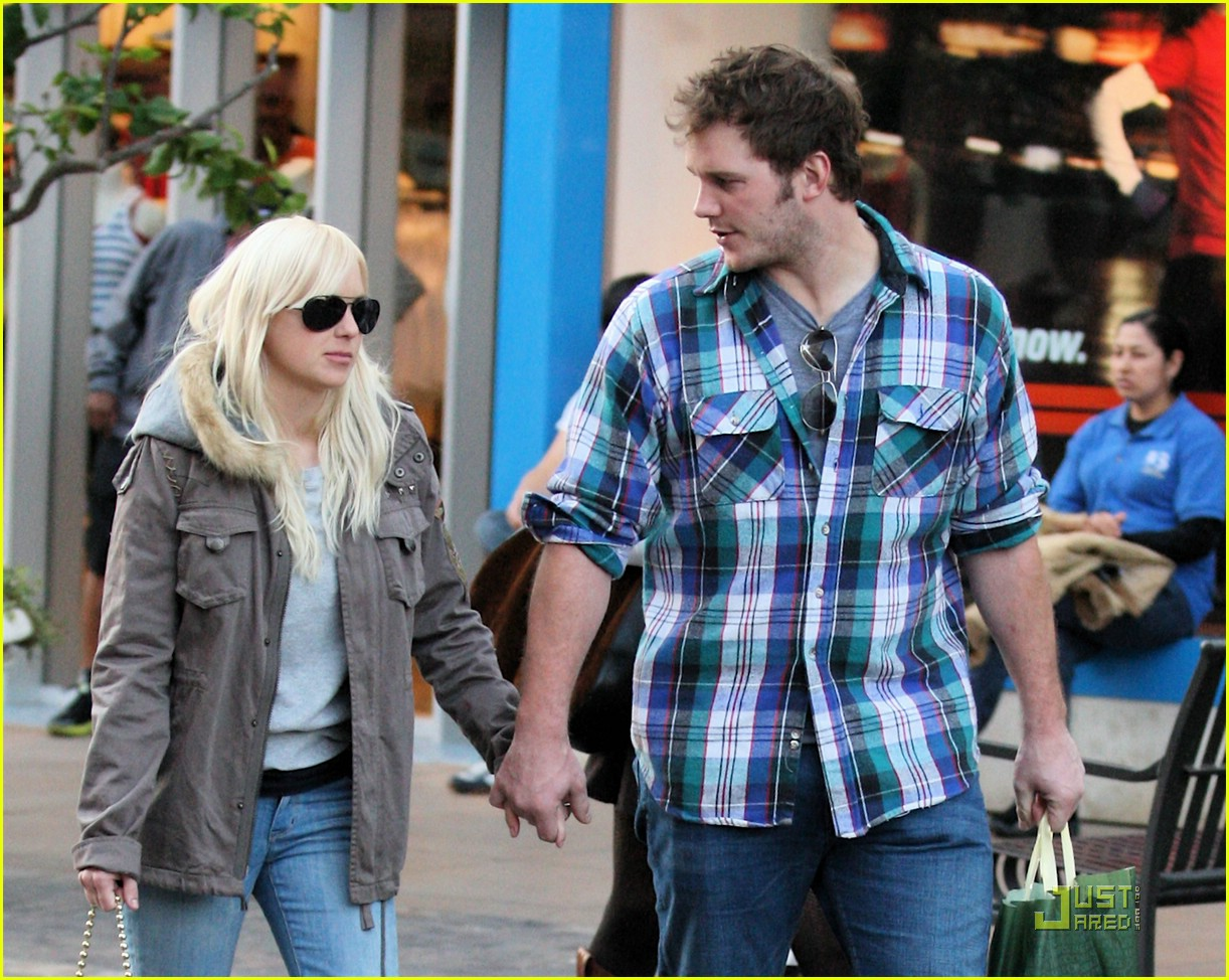 anna faris chris pratt couple 081687471